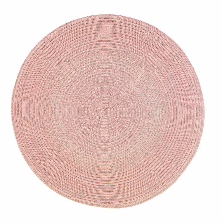 Pichler Tischset SAMBA, rund 38 cm, peach