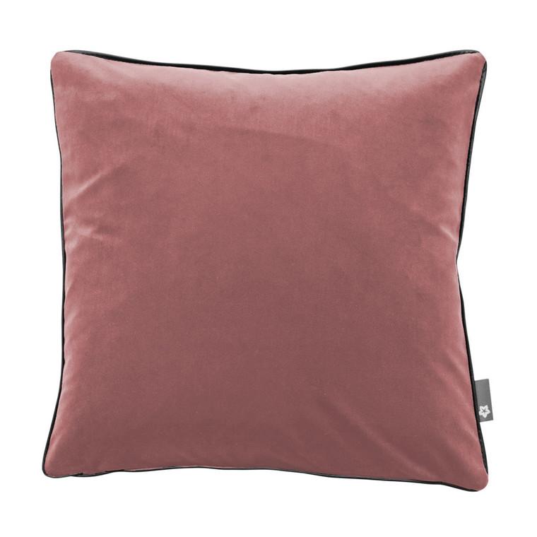 Pichler Samt-Kissenhülle SALON, verschiedene Größen, rosenholz