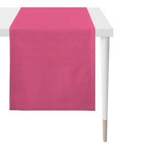 Apelt Tischläufer Mitteldecke Tischdecke Uni, Fb. 31 pink