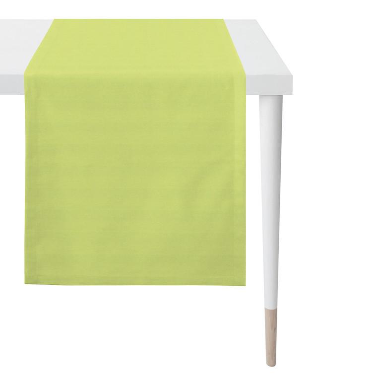 Apelt Tischläufer Mitteldecke Uni, Fb. 41 grün