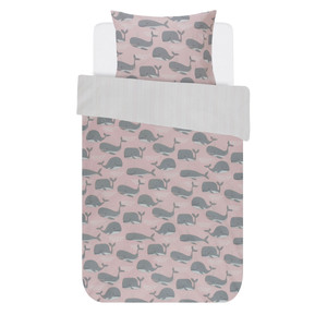 Covers&Co Kinderbettwäsche WALLY, 100% Baumwolle, rose