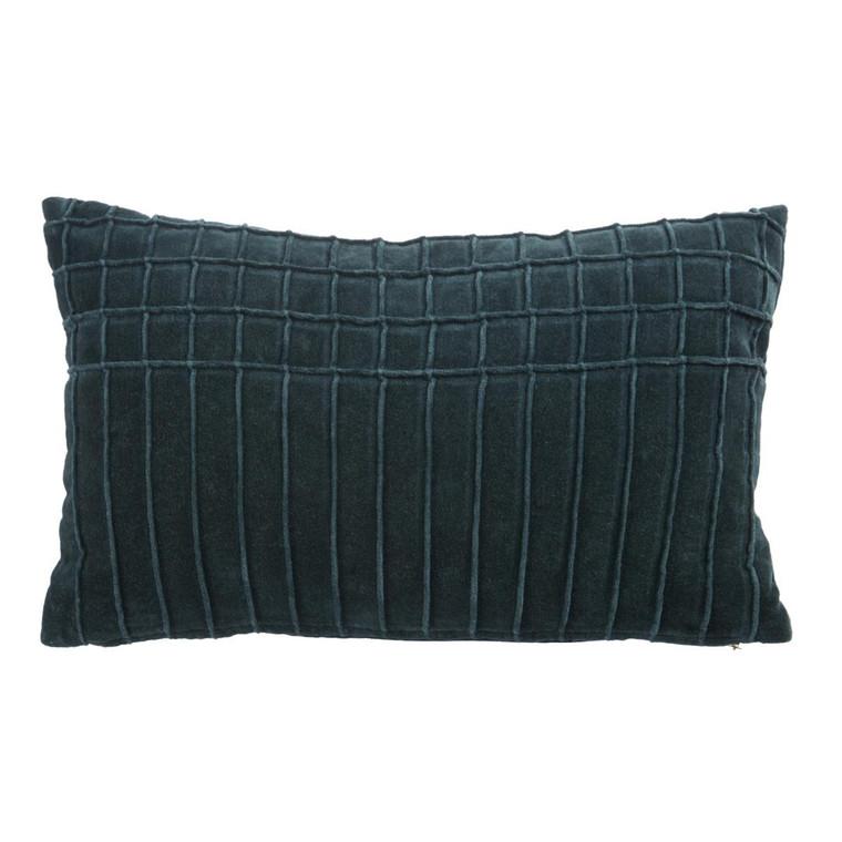 Kaat Dekokissen AURA, 30 x 50 cm gefüllt, dark green