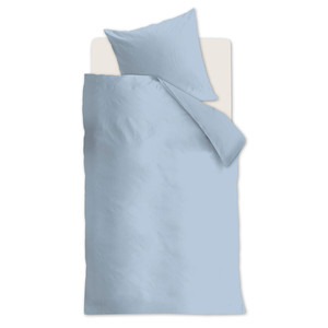 Beddinghouse Bettwäsche BASIC, 100% Baumwolle, blue