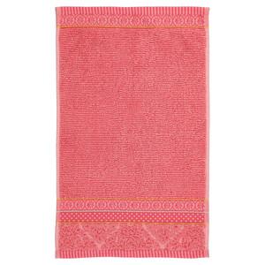 Pip SOFT ZELLIGE Waschhandschuh Gästetuch Handtuch Duschtuch, coral – Bild 2