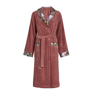 Essenza FLEUR Bademantel, XS - XL , dusty rose
