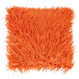 PAD Concept Zottelfell Kissenhülle FLUFFY, verschiedene Größen, orange