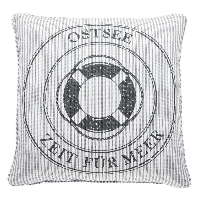 Pad Kissenhülle OSTSEE, 45 x 45 cm, grey