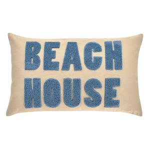 Pad Kissenhülle BEACH HOUSE, 30 x 50 cm, beige