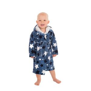 Wewo Kinder Bademantel 8207, 86 - 116, jeansblau