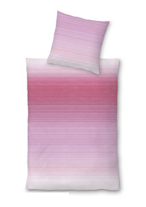 "Living Dreams Satin-Bettwäsche ""Kerim"", fuchsia"