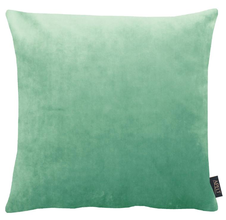 Apelt Samt Kissenhülle Arte, 46 x 46 cm, einfarbig Fb. 41 smaragt
