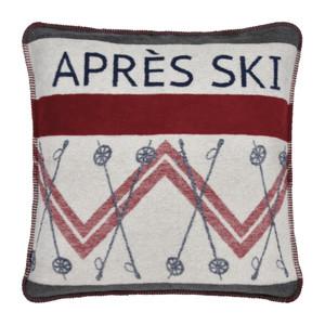 "PAD Kissenhülle ""Apres Ski"", 60 x 60 cm, grey"