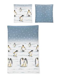 Irisette Edel-Feinbiber Bettwäsche Feel  Pinguine 8104-20, multi – Bild 3