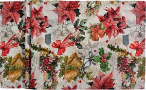 """Sander """"Jingle Bells"""" Tischbänder Tischläufer, verschiedene Größen,  mehrfarbig"""