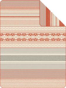 "S. Oliver Jaquard Wohndecke ""Dordrecht"" 1251-840, 150 x 200, grau/rot"
