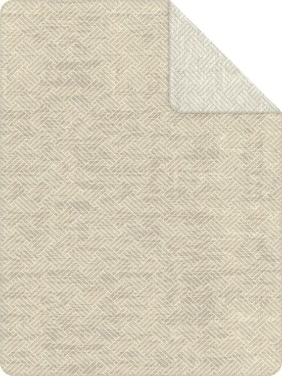 "Ibena Wohndecke ""Amman"", 150 x 200, beige/silber"