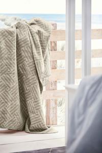 "Ibena Wohndecke ""Amman"", 150 x 200, beige/silber – Bild 2"