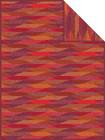"Ibena Wohndecke ""Temara"", 150 x 200, rot 001"
