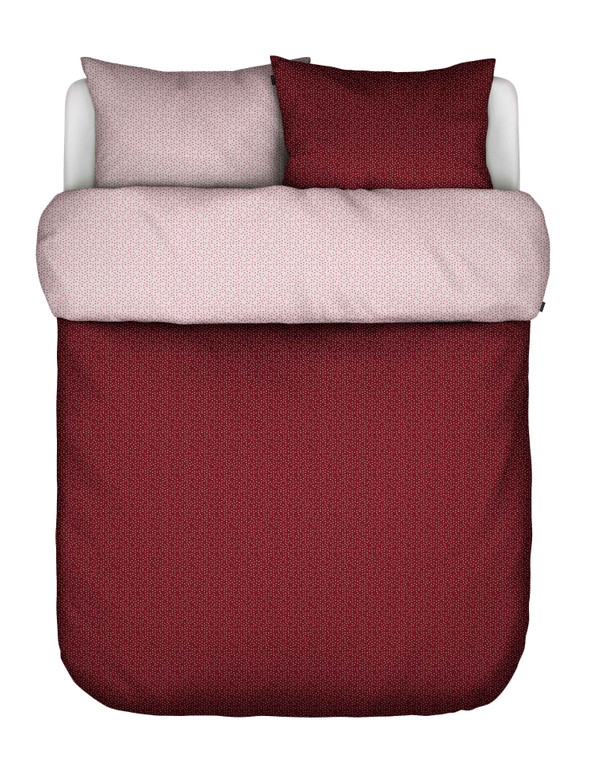 Marc O Polo Home Bettwäsche Svara Duvet Baumwolle, red