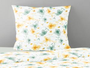 Irisette Seersucker-Bettwäsche CALYPSO 8162-40, grün - gelb – Bild 2