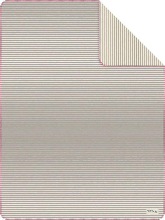 S. Oliver Jaquard Wohndecke, 150 x 200, grau/wollweiß