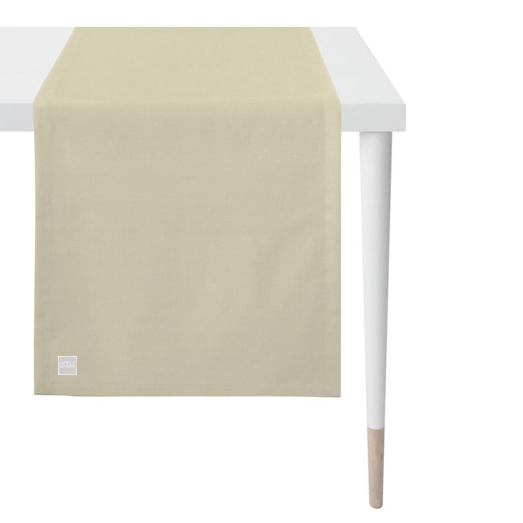 Apelt Tischläufer Mitteldecke OUTDOOR, 3959 Fb. 89 ecru
