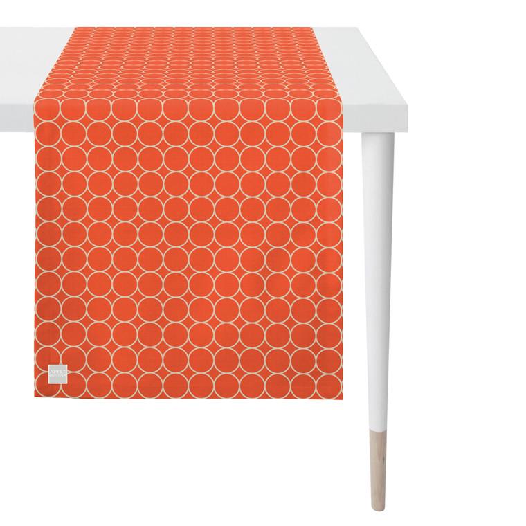 Apelt Tischläufer OUTDOOR, 3973 Fb. 30 koralle