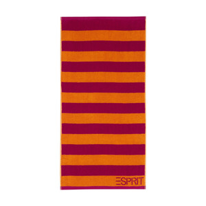 Esprit BLOCK STRIPE Handtuch-Serie, raspberry – Bild 2