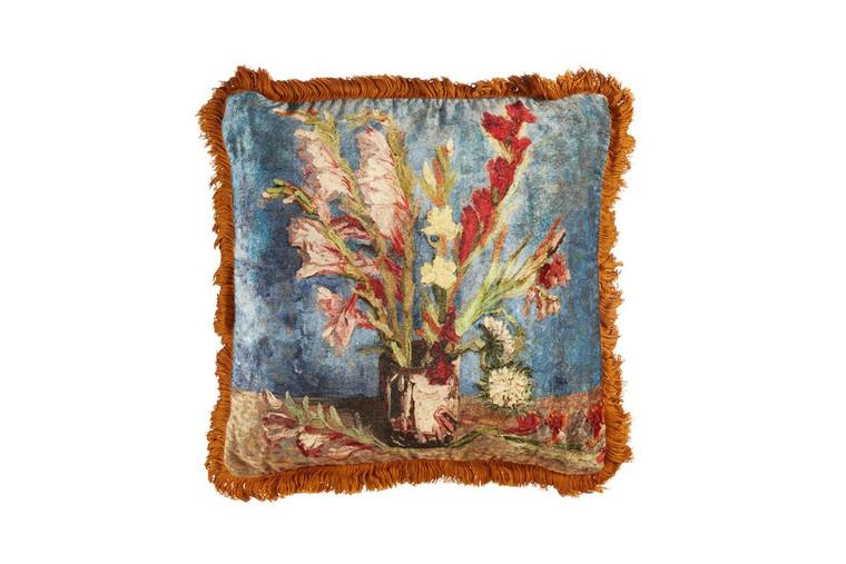 "Beddinghouse Dekokissen ""van Gogh  - Gladiolus"", 45 x 45 cm, multi"