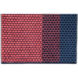 Cawö Loft Streifen Handtuch Duschtuch, Fb. 21 watermelon-navy – Bild 2