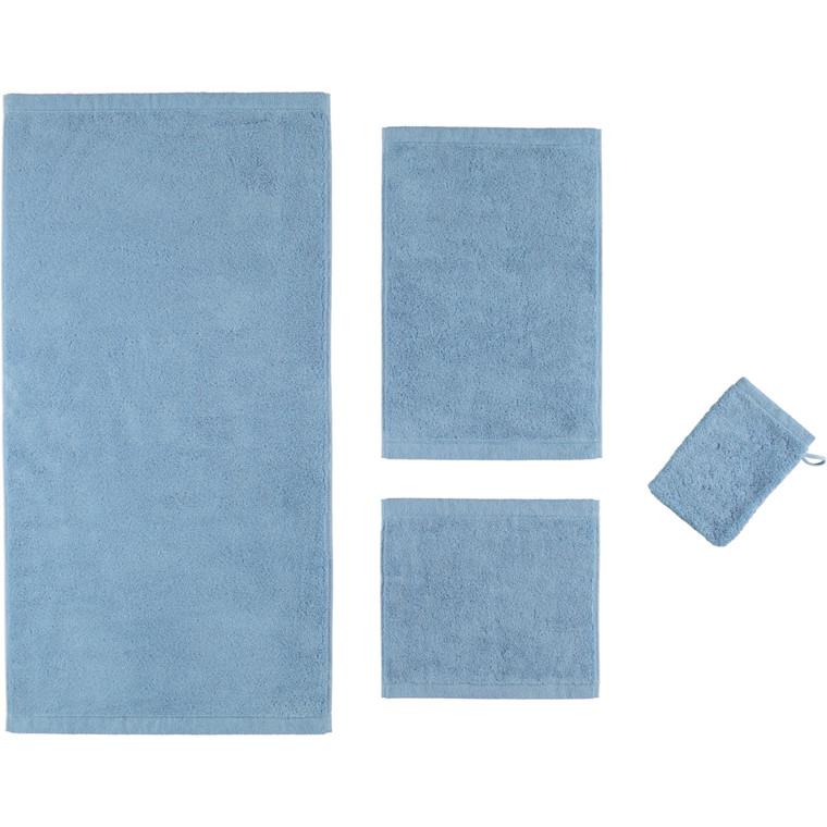 Cawö Lifestyle Waschhandschuh Gästetuch Handtuch Duschtuch, Fb.138 (sky)