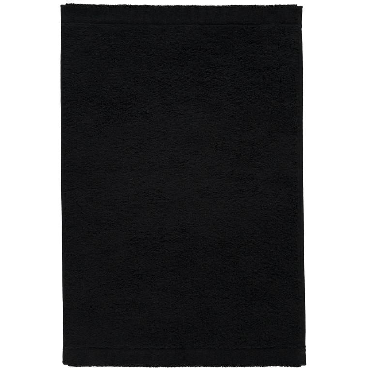 Cawö Lifestyle Waschhandschuh Gästetuch Handtuch Duschtuch, Fb.906 (schwarz)