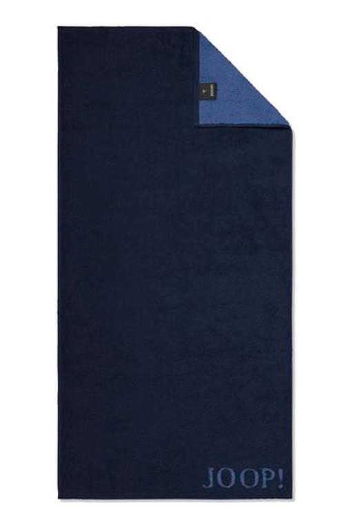 Joop Classic Doubleface Waschhandschuh Gästetuch Handtuch Duschtuch, FB 14 - navy