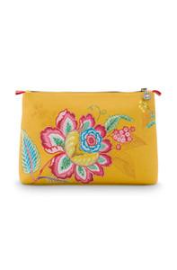 Pip Studio Kosmetiktasche Combi Jambo Flower, gelb – Bild 2
