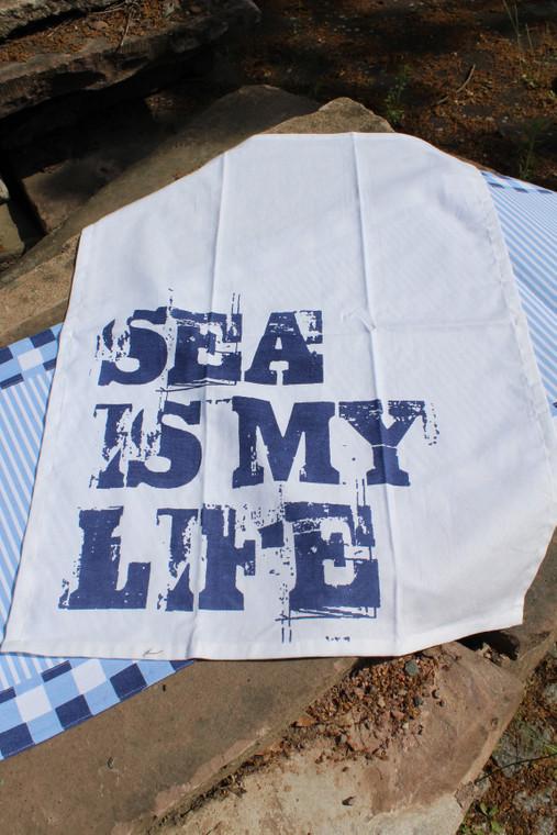 Living Dreams Geschirrtuch Sea Hawks, mehrfarbig