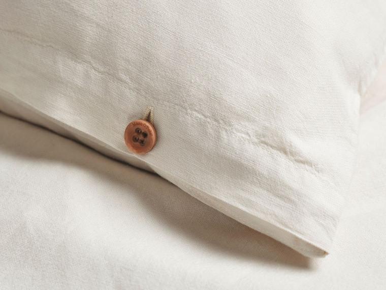 Marc O Polo Home Bettwäsche Washed Linen, 40% Leinen & 60% Baumwolle, oatmeal