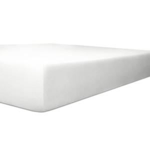 Kneer Spannbettlaken VARIO-STRETCH mit Elastan- und Modal-Anteil, weiß