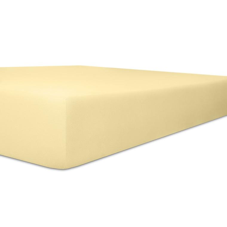 Kneer Spannbettlaken VARIO-STRETCH mit Elastan- und Modal-Anteil, leinen