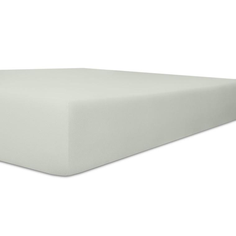 Kneer Spannbettlaken VARIO-STRETCH mit Elastan- und Modal-Anteil, platin