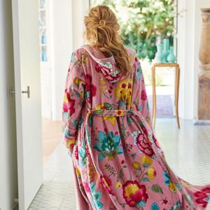 Pip Damen Bademantel Floral Fantasy, XS - XXL, pink – Bild 3