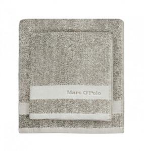 Marc O´Polo Melange Waschhandschuh Gästetuch Handtuch Duschtuch, beige/ecru