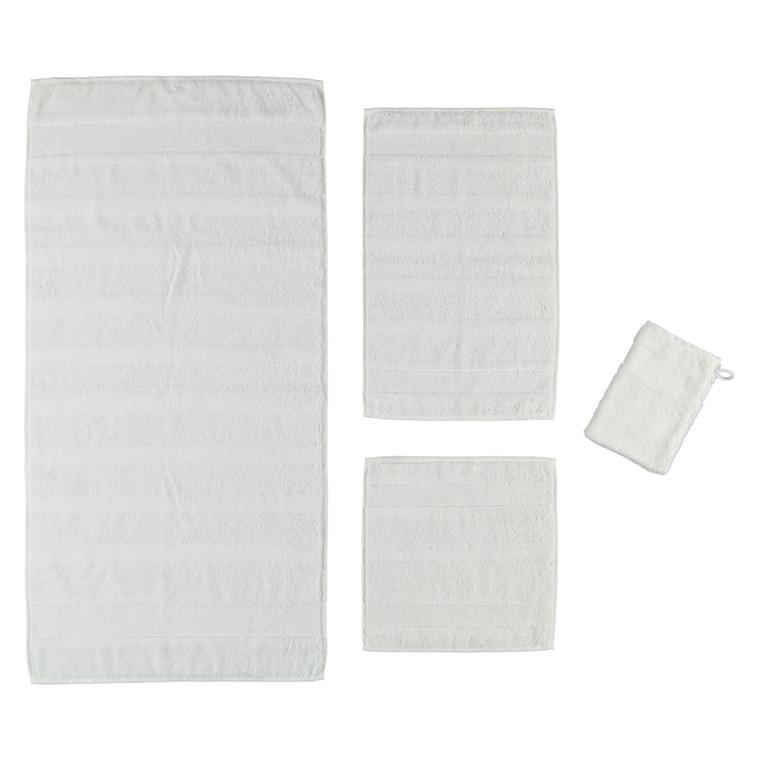 Cawö Noblesse Waschhandschuh Gästetuch Handtuch Duschtuch, Fb. 600 (weiß)