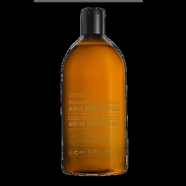 Flüssigseife Anis-Patchouli 1 Liter Nachfüllflasche - Compagnie de Provence – Bild 1