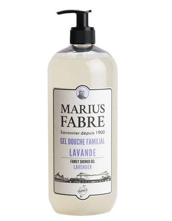 Duschgel für die ganze Familie Lavendel 1 Liter - Marius Fabre – Bild 1