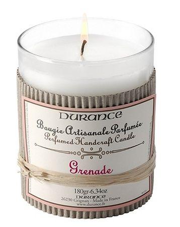 Duftkerze Granatapfel 180 g - Durance – Bild 1