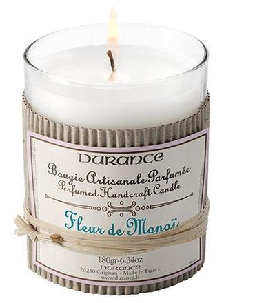 Duftkerze Monoïblüte 180 g - Durance – Bild 1