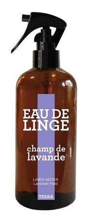 Wäschewasser (Eau de Linge) Lavendelfeld 300 ml - TERRA – Bild 1