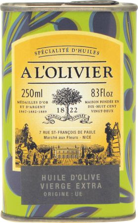 Huile d'Olive Vierge Extra 250 ml - A l'Olivier  – Bild 1