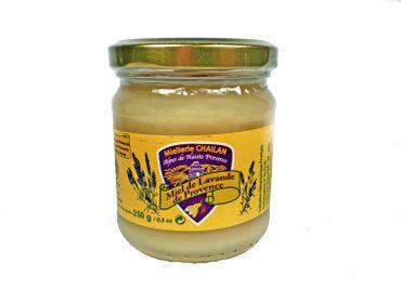 Lavendelhonig (Miel de Lavande) 250 g cremig - Miellerie Chailan – Bild 1