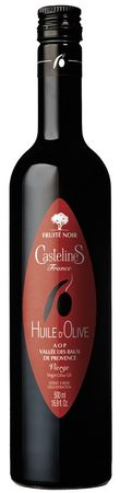 Olivenöl AOP Vallée des Baux (FRUITÉ NOIR) 500 ml - Castelas – Bild 1